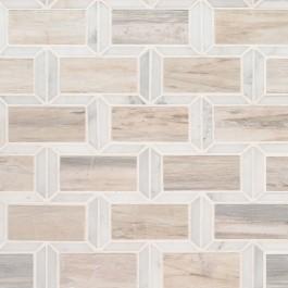 Angora Framework 12X12 Polished Mosaic Wall Tile
