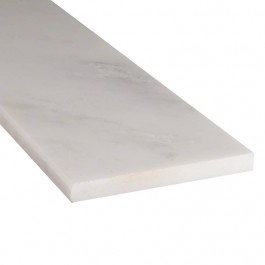 Arabescato Carrara 6X37 Single Beveled