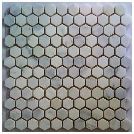 Arabescato Carrara Hexagon