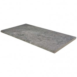 Arterra Quarzo Gray 13X24 Eased Edges Pool Coping