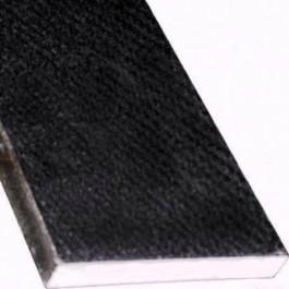 Black Granite 6x72x3/4 Polished Double Bevel Threshold