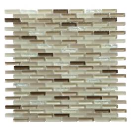 Farnsworth Glass Mix 12x12 Blend Mosaic