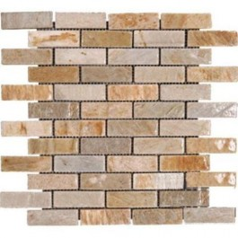 Golden White Brick 12X12 Tumbled