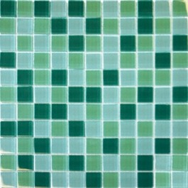 Green Blend 12X12 Crystallized