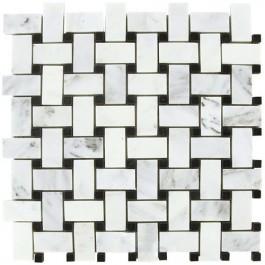 Arabescato Carrara Basketweave