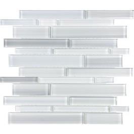 Ice Block Random Strip Glass Mix Random Strip Mosaic