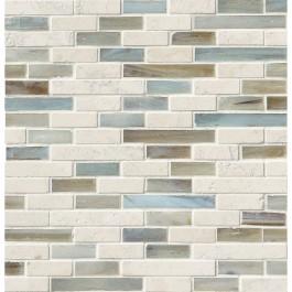 Kaledo Blend Interlocking 6mm Pattern Backsplash Tile