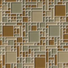 Mocha Cream Magic Pattern 8MM