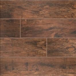 Redwood Mahogany 6X36 Glazed