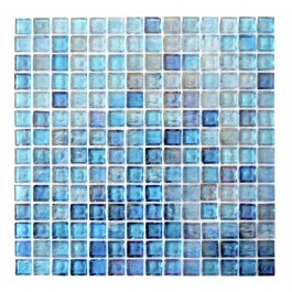 Leed Amber Collection 3/4 x 3/4 Coral Blue
