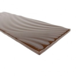 Pacific Collection Cola 4x12 Glossy Glass Subway Tile