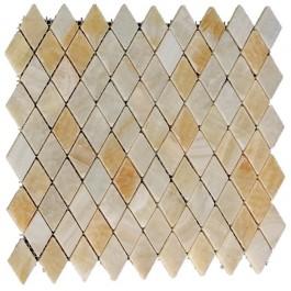 Yellow Onyx Rhomboid