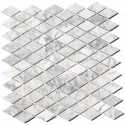 Arabescato Carrara Rhomboid 12x12 Polished