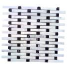 Arabescato Carrara Bullet Pattern