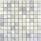 Carrara White 1x1 Polished Marble Mosaic