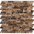 Emperador Splitface Peel And Stick Wall Tile