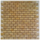 Emperador Light Brick Interlocking 12x12 Polished