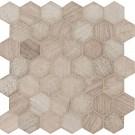 Honey Comb 2x2 Hexagon Multi Finish Mosaic