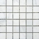 Oriental White 2X2 Polished Mosaic