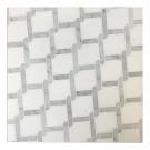 Trellis Thassos 9X9 Polished Waterjet Mosai
